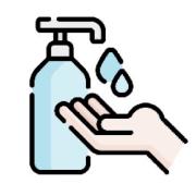 ICOS covid limpieza de manos - Información clases presenciales curso 2021